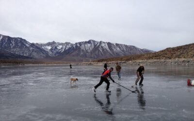 Eastern Sierra Ice Skating