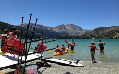 Kayaking in the Greater Mammoth Area