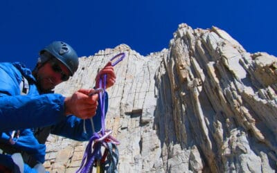 Technical Climbing in the Eastern Sierra