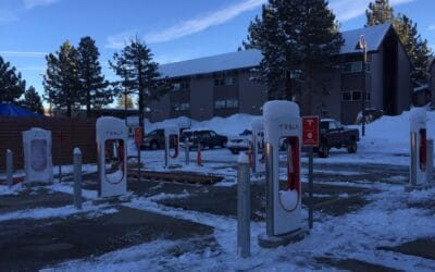Tesla Charging Stations in Mammoth