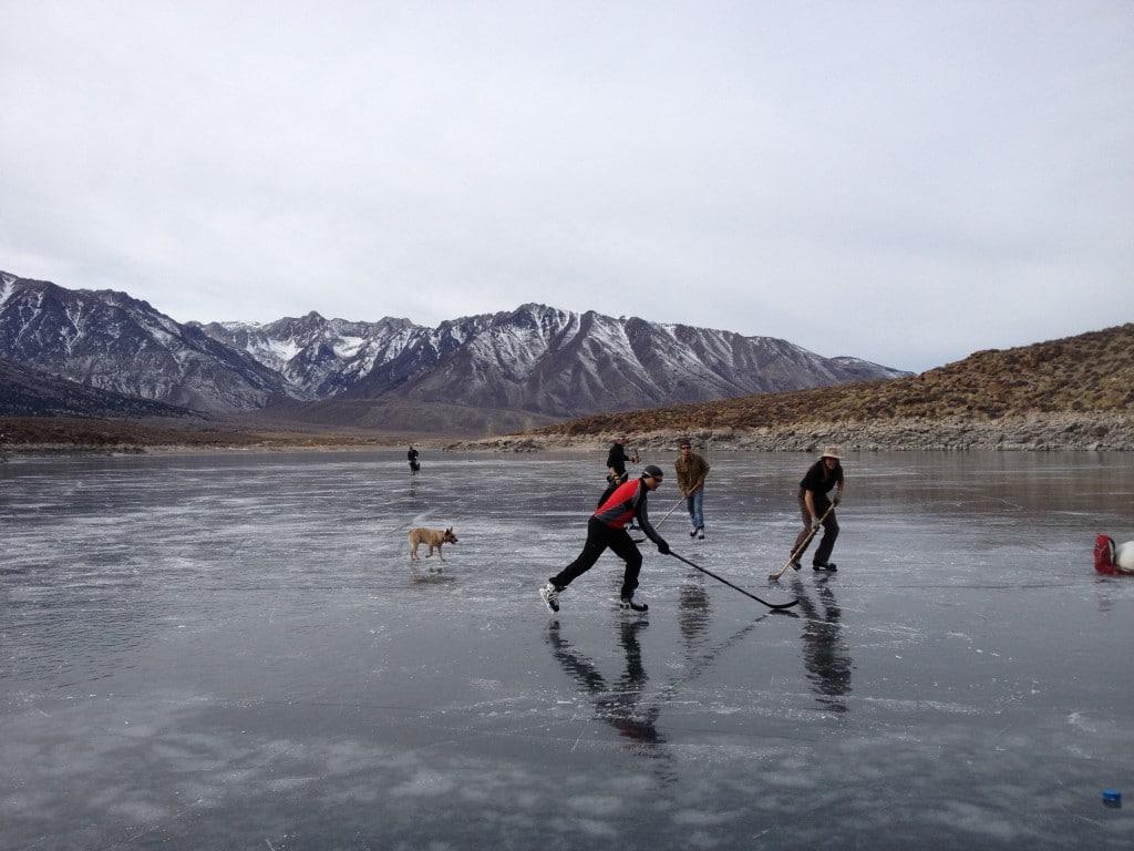 Crowley Lake Ice