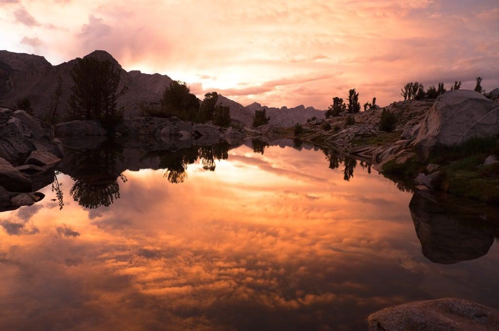 Sunset at Amphitheater Basin: taken by Patty Hensley