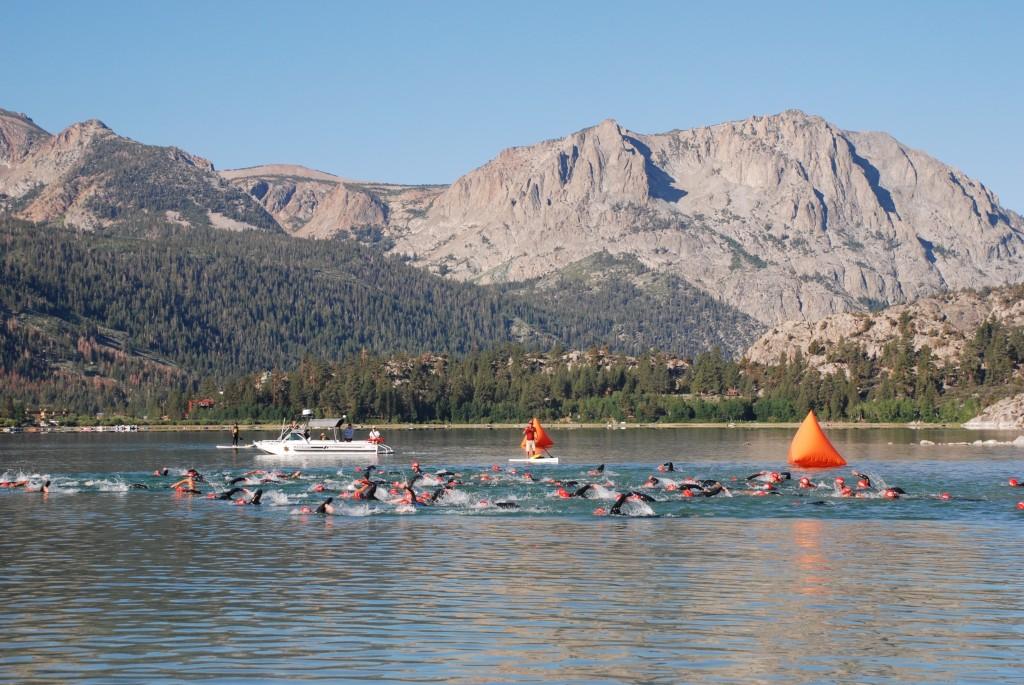 June Lake Tri swim